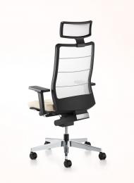 Bureaustoel airpad met hoofdsteun