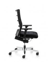 Bureaustoel zwart airpad
