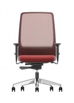 AIMis1 rood Interstuhl Bureaustoel