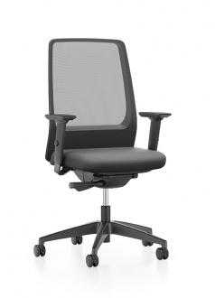 AIMis1 Bureaustoel zwart Interstuhl