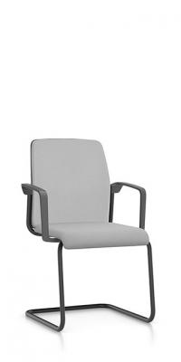 Interstuhl bezoekersstoel swingframe armleggers