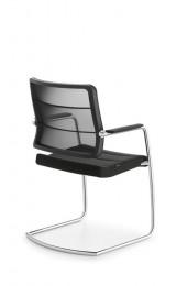 Interstuhl AirPad 5C35 bezoekersstoel armleggers