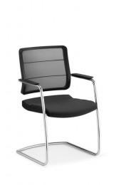 Interstuhl AirPad 5C35 swingframe bezoekersstoel