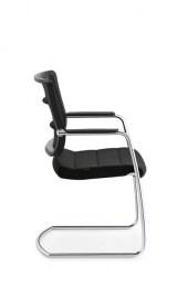 Interstuhl AirPad 5C35 swingframe stoel met armsteunen