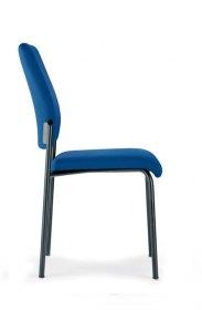 Interstuhl bezoekersstoel 400G 4-poots stabelbaar