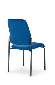 Interstuhl bezoekersstoel 400G 4 poots stabelbaar