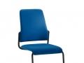 Interstuhl bezoekersstoel 500G swingframe stabelbaar
