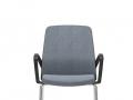 Interstuhl 4-pootsstoel armleggers stapelbaar BUDDYis3 450B
