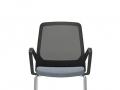 Interstuhl 4-pootsstoel armleggers stapelbaar BUDDYis3 470B