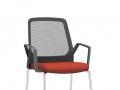 Interstuhl bezoekersstoel met armleggers stapelbaar BUDDYis3 470B