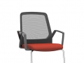 Interstuhl swingframe stoel stapelbaar armleuningen BUDDYis3 570B