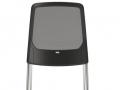 Interstuhl vierpoots bezoekersstoel stapelbaar BUDDYis3 420B