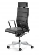 Interstuhl Champ bureaustoel zwart leer