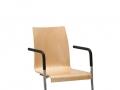 Interstuhl bezoekersstoel swingframe ongestoffeerd stapelbaar CURVEis1 C20S