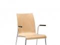 Interstuhl bezoekersstoel vierpoot ongestoffeerd stapelbaar CURVEis1 C20V