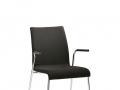 Interstuhl bezoekersstoel volledig gestoffeerd stapelbaar CURVEis1 C24V