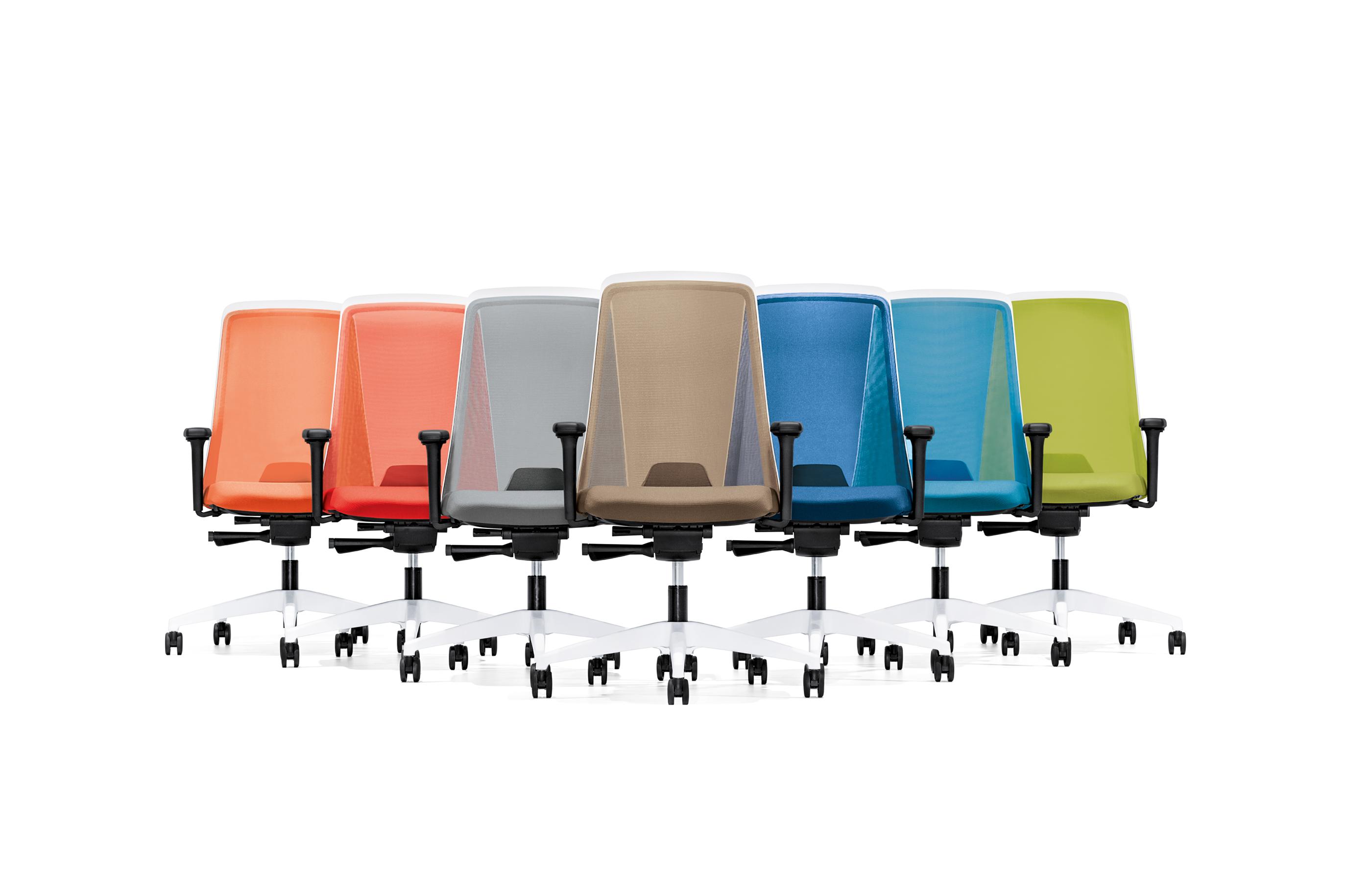 Interstuhl bureaustoelen