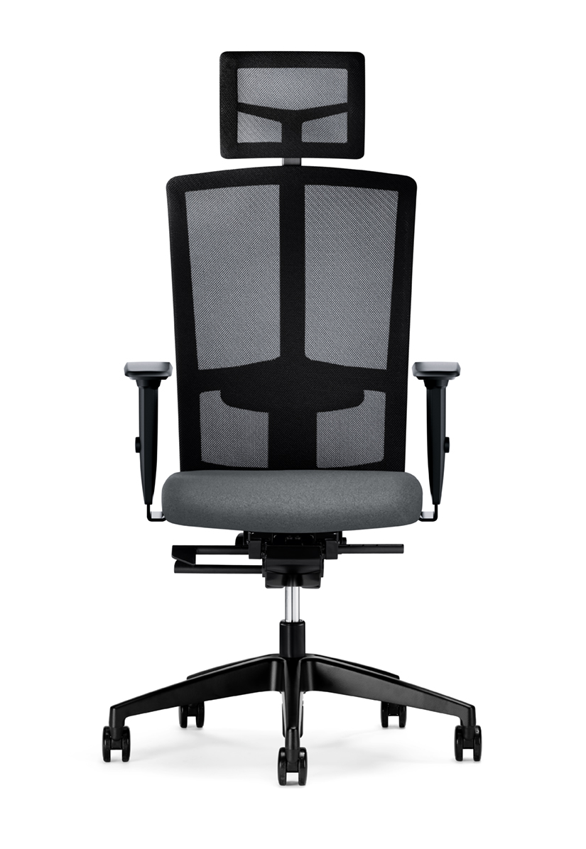 Interstuhl Goal Air bureaustoel met hoofdsteun