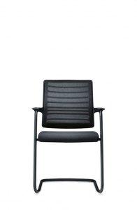 Interstuhl bezoekersstoel rugleuning netbespanning stapelbaar 570H