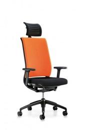 Interstuhl Hero bureaustoel hoofdsteun