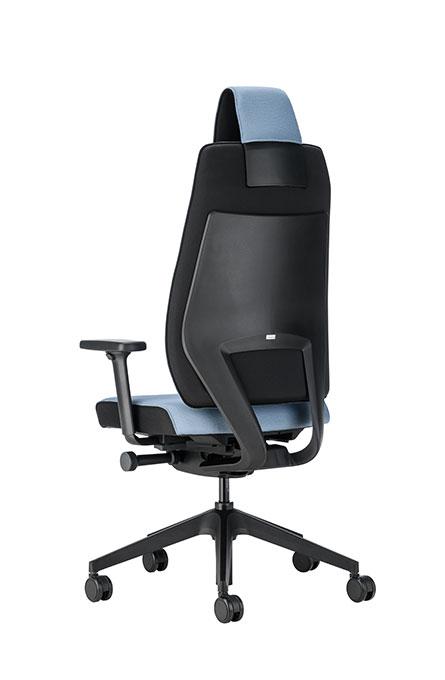 Interstuhl JOYCEis3 JC113 bureaustoel met hoofdsteun