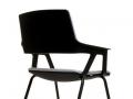 Interstuhl MOVYis3 bezoekersstoel vierpoots stapelbaar tot 4 stuks 46M0