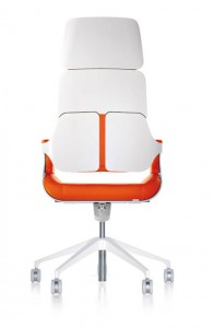Interstuhl Silver oranje bureaustoel