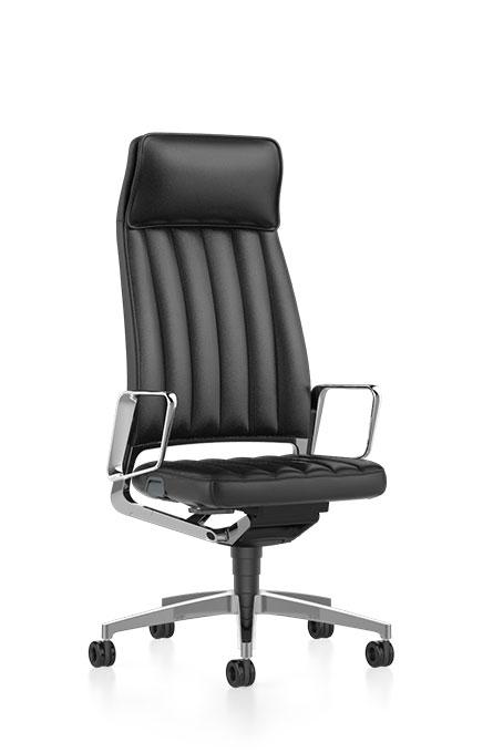 Interstuhl bureaustoel hoofdsteun luxe