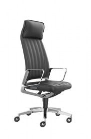 Interstuhl bureaustoel hoofdsteun luxe comfort