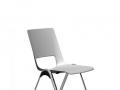 Interstuhl ongestoffeerde stapelbare stoel VLEGSis3 V100K