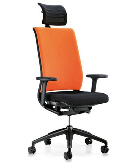 Interstuhl Hero 265 bureaustoel hoofdsteun armleggers