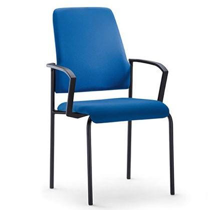 Interstuhl bezoekersstoel 450G 4 poots