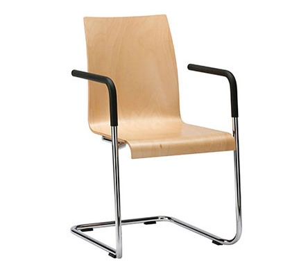 Interstuhl bezoekersstoel CURVEis1 C20S