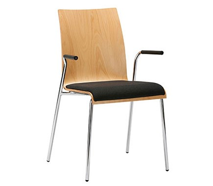 Interstuhl stoel zitting gestoffeerd CURVEis1 C21V